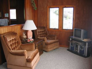 Port Sanilac cottage photo - Sit and Relax and enjoy the watching the freighters on Lake Huron