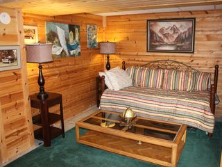 Burt Lake house photo - this is a day bed with a pull out to make two singles.