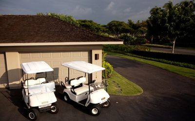 Four Seasons Hualalai villa rental - Two golf carts