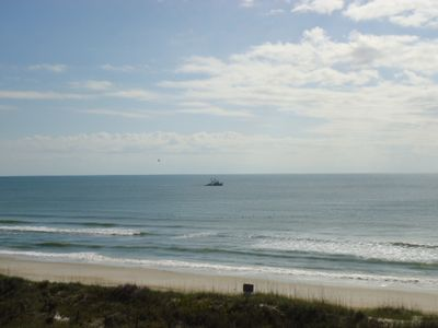 North Topsail Beach condo rental - View from the balcony of the condo