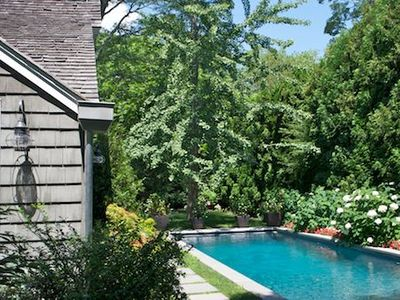 East Hampton house rental - Total privacy in the heart of the estate section of East Hampton Village.