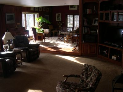 Oshkosh house rental - Great Room and Den