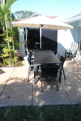 Deerfield Beach house photo - BACK PATIO TABLE