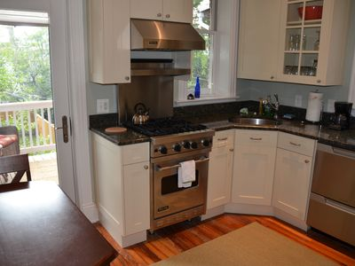 Kitchen w/door to rear deck