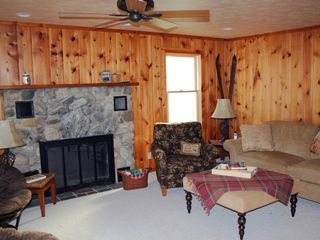 Mackinaw City house photo - Cozy TV Room