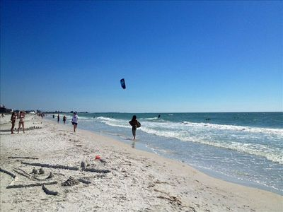 St. Pete Beach was voted # 1 Beach in the USA in 2012. You will love it here !!