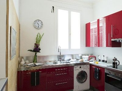8th Arrondissement Champs Elysees apartment rental - Kitchen