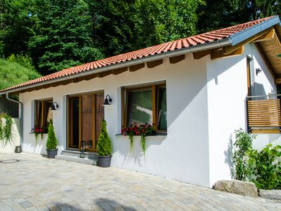 Exclusive bungalow in an idyllic location at the foot of the Andechs Monastery