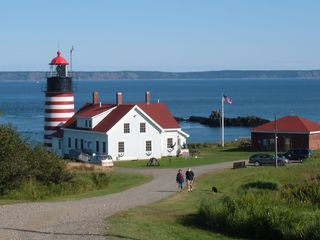 Lubec house photo - West Quoddy Head lighthouse