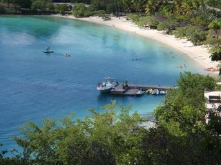 Cruz Bay condo photo - Caneel Bay, 5 minute drive or 15-minute jog from the condo