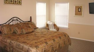 South Padre Island house photo - Master Bedroom-King Bed