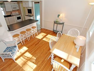 Brewster house photo - Eat in kitchen with breakfast bar.