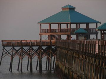 Edwin S. Taylor Folly Beach Fishing Pier...a must visit! 1,050 ft. long.