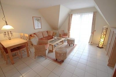 3-bedroom apartment with 3 BR. Timmendorfer beach for 4 people.