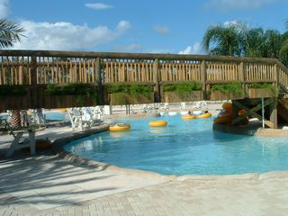 Orange Beach condo photo - The Oasis - Grab a tube and enjoy the lazy river