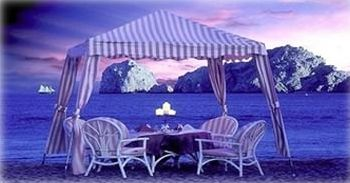 Dinner on the beach, under the stars - after watching sunset, waves at your feet
