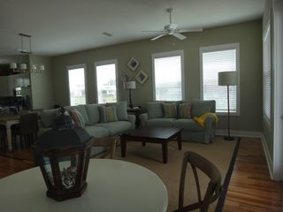 Mexico Beach house photo - Living area also has a card/puzzle table in the corner