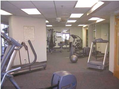 Surfside Resort - Fitness Center Located On First Floor