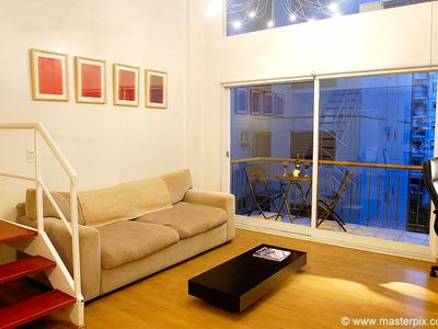 Recoleta apartment rental - Comfortable sofa bed that can sleep an additional guest. (New and replaced)