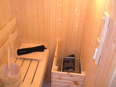 The private Sauna