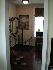 Galveston cottage photo - Seating Area - Spiral Stairs to the First Floor