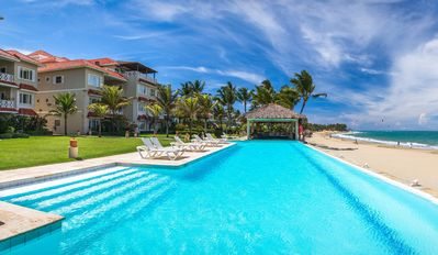 Luxury Beachfront Residence in the best location,  center of Cabarete Bay