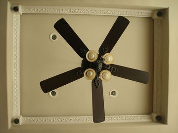 Living room ceiling fan (looking up)