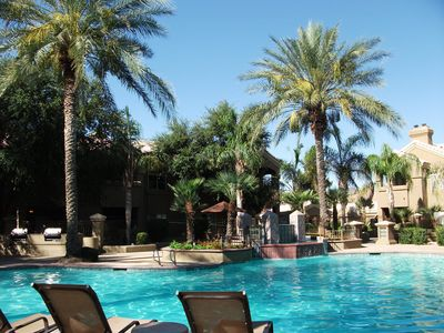 Paradise Valley condo rental - Total relaxation by the heated pool