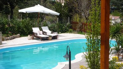 Apartment in villa with pool at the beautiful Lake Bracciano (Rome)