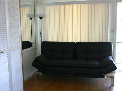 2826 Mission Blvd. Apt#4- Couch/ Futon (Queen Size)