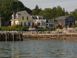 "Deer Isle - Stonington house photo - ""Stronghold"" from the water"