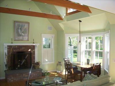 Edgartown house rental - Living Room Cottage,Kitchenette, Bathroom,Sofa bed (double)