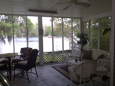 Springfield house rental - Enjoy breakfast or drinks on the patio