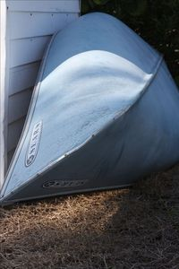 A shed on premise can house floats, fishing gear, and other equipment.