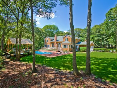 Bridgehampton house rental - Back Yard