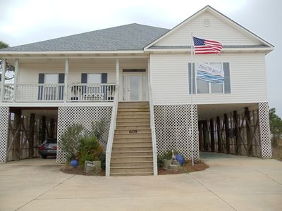 Dauphin Island house rental - Front of house