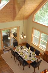 Cashiers house photo - Enjoy the light from the 3 large skylights in the Great Room and Dining Area