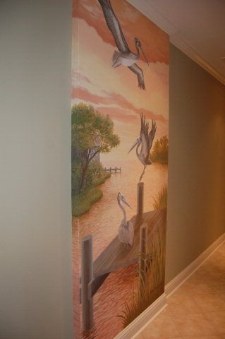 Beautiful Murals throughout Unit call Kelli 800-933-6068
