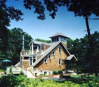 This is architect William Burgin's RI Monthly Gold Design Home Award