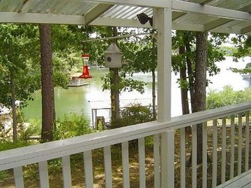 Hot Springs Village townhome rental - View From Deck
