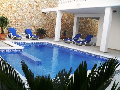 Large Spacious Private Villa in Tavira Town with Pool, Games Room & WIFI