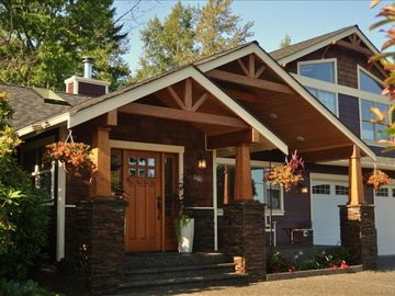 Bellingham house rental - Artistically designed and built by the owners, inside and out.