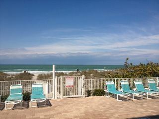 Indian Rocks Beach condo photo - Private beach access from pool area
