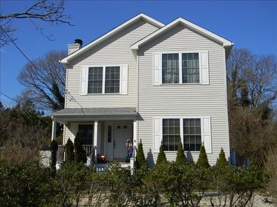 Three bedroom home two and half bath, located in Montauk. Private beach access