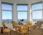 Idyllic apartment with 180 deg sea views on Coverack Headland Cornwall