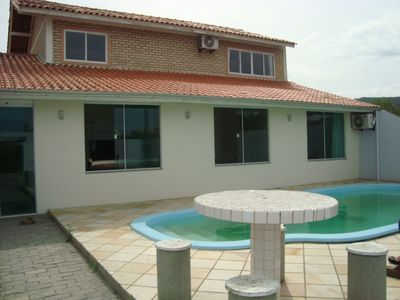 Excellent house with pool in Mariscal-Bombinhas Beach