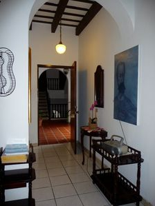 San Juan apartment rental - THE ENTRANCE TO THE APARTMENT