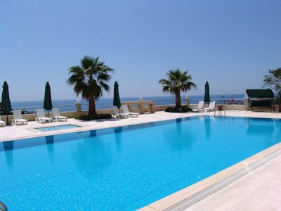 Dream holiday apartment with panoramic sea views
