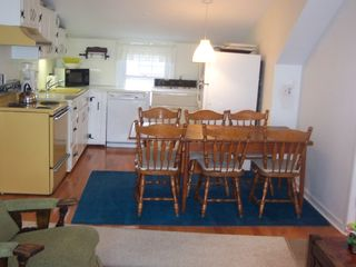 Stone Harbor property rental photo - Fully equipped kitchen - dining for 6