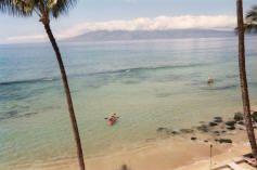 Honokowai townhome photo - Shoreline access makes it easy to kayak right from our shore in West Maui.
